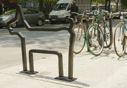 Bicycle Rack by David Byrne